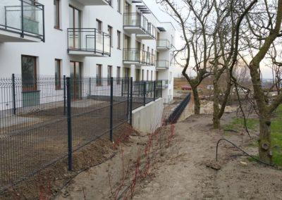 ogrodzenie panelowe - wygrodzenie ogródków