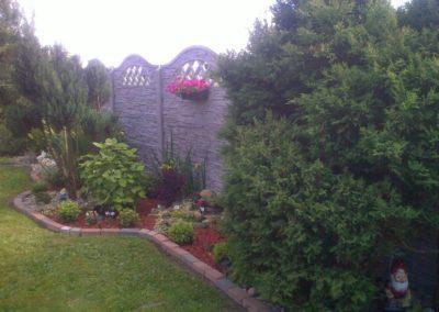 ogrodzenie betonowe