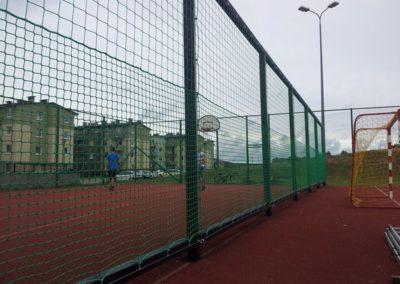 Piłkochwyt - siatka ochronna
