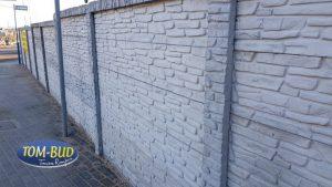 Ogrodzenie betonowe dwustronne